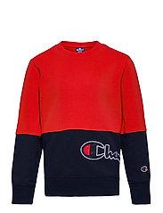 Crewneck Sweatshirt - FLAME SCARLET