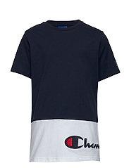 Crewneck T-Shirt - NAVY BLAZER