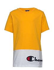 Crewneck T-Shirt - SPECTRA YELLOW