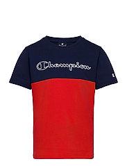 Crewneck T-Shirt - MEDIEVAL BLUE