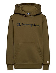 Hooded Sweatshirt - MILITARY OLIVE