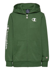 Hooded Full Zip Sweatshirt - GREENER PASTURES