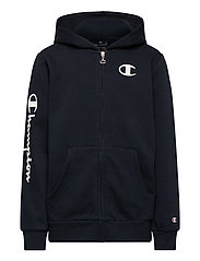 Hooded Full Zip Sweatshirt - SKY CAPTAIN