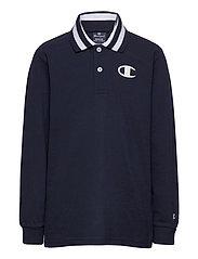 Long Sleeve Polo T-Shirt - SKY CAPTAIN