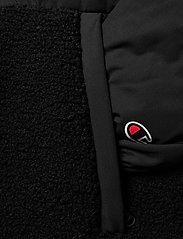 Champion - Hooded Jacket - isolerede jakker - black beauty - 3