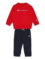 Crewneck Suit - HIGH RISK RED