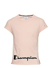 Crewneck T-Shirt - IMPATIENS PINK