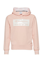 Hooded Sweatshirt - IMPATIENS PINK