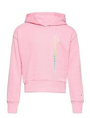 Hooded Sweatshirt - CANDY PINK