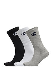 3PP Crew Socks - GRAY MELANGE LIGHT