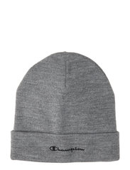 Beanie Cap Accessories Hats & Caps Beanies Grå CHAMPION