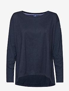 Long Sleeve T-Shirt - langarmshirts - black iris