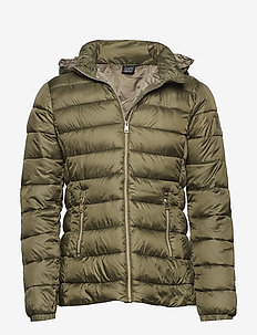 Hooded Jacket - IVY GREEN
