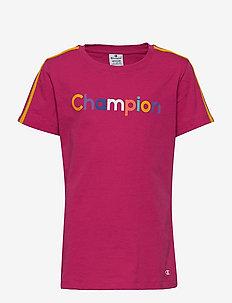 Crewneck T-Shirt - VERY BERRY