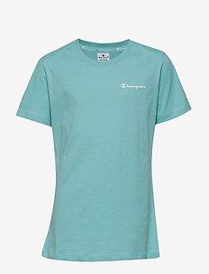 Crewneck T-Shirt - AQUA HAZE