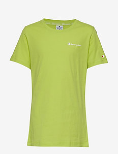 Crewneck T-Shirt - WILD LIME