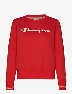 Crewneck Sweatshirt - POPPY RED