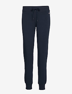 Rib Cuff Pants - SKY CAPTAIN