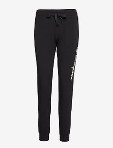 Elastic Cuff Pants - BLACK BEAUTY