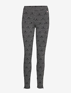Leggings - NEW CHARCOAL GREY MELANGE DARK AL(NCOM)