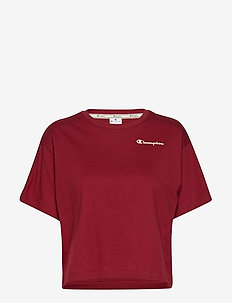 Crewneck Croptop - BIKING RED