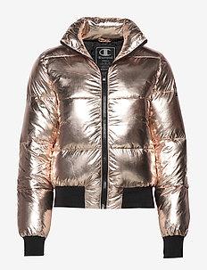 Bomber Jacket - LIGHT ROSE GOLD