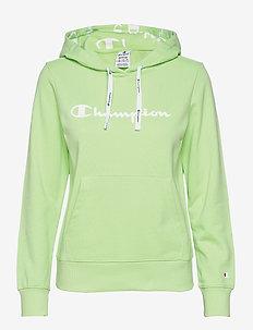 Hooded Sweatshirt - hættetrøjer - paradise green