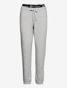 Rib Cuff Pants - trainingsbroek - oxford grey melange yarn dyed