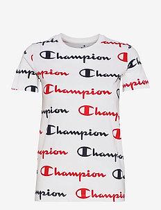 Crewneck T-Shirt - t-paidat - white al (wht) b