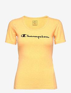 Crewneck T-Shirt - logo t-shirts - orange pop fluo tp (opff)