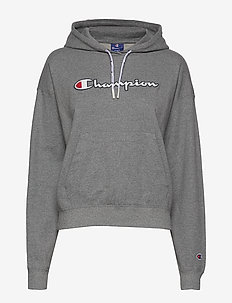 Hooded Sweatshirt - hoodies - graphite grey melange jasp