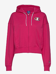 Hooded Full Zip Sweatshirt - kapuzenpullover - beetroot purple