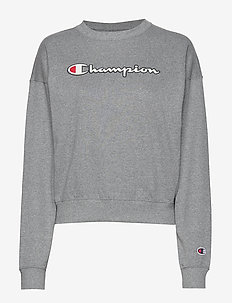 Crewneck Sweatshirt - GRAPHITE GREY MELANGE JASP