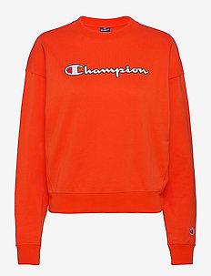 Crewneck Sweatshirt - sweatshirts - tangerine tango
