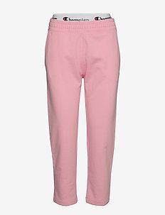 Straight Hem Pants - treenihousut - candy pink