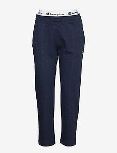 Straight Hem Pants - sweatpants - navy blazer