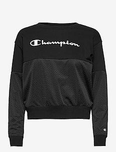 Crewneck Sweatshirt - sweatshirts - black beauty
