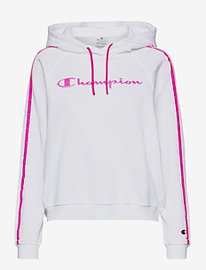 Hooded Sweatshirt - hoodies - white