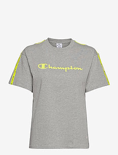 Crewneck T-Shirt - t-paidat - gray melange light