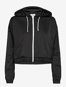 Full Zip Sweatshirt - bluzy z kapturem - black beauty
