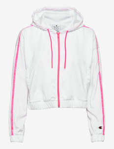 Full Zip Sweatshirt - hættetrøjer - white