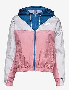 Hooded Full Zip Sweatshirt - sportjassen - candy pink
