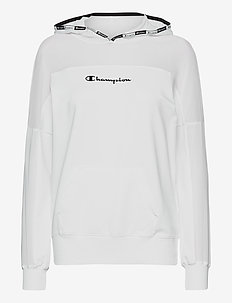 Hooded Sweatshirt - kapuzenpullover - white