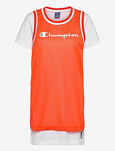 Dress - t-shirt dresses - tangerine tango
