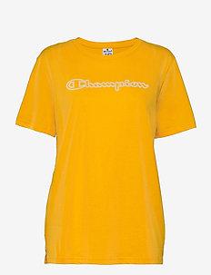 Crewneck T-Shirt - logo t-shirts - gold fusion