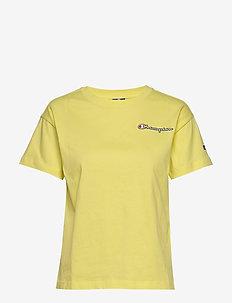Crewneck T-Shirt - logo t-shirts - limelight