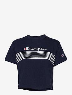 Crewneck Croptop - logo t-shirts - navy blazer