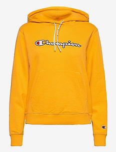 Hooded Sweatshirt - hupparit - old gold
