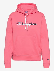 Hooded Sweatshirt - hettegensere - strawberry pink