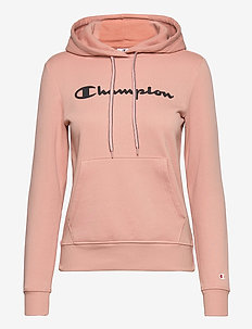 Hooded Sweatshirt - kapuzenpullover - misty rose